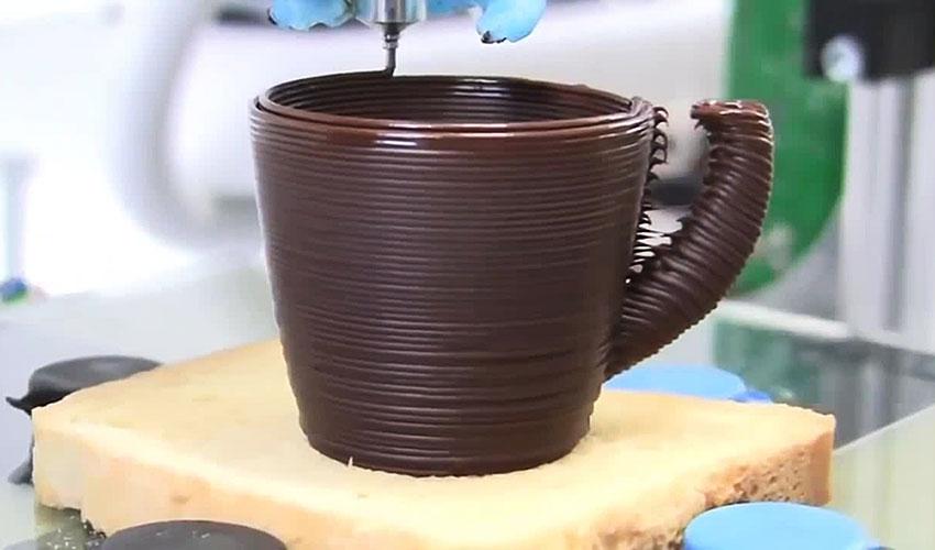 Druk 3D z czekolady